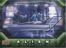 Upper Deck Alien Anthology Silver Stamped Parallel Base Card #10