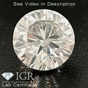 0.20 cts. CERTIFIED Round Brilliant Cut SI1 White-H Loose Natural Diamond 24440