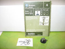 Axis & Allies 1939-1945 Bazooka with card 27/60