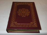 SIGNED FIRST EDITION Easton Press THE RESCUE Nicholas Sparks LEATHER FINE/RARE!