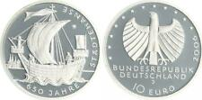 10 Euro  Städtehanse 2006 Münzzeichen J Polierte Platte, in Münzkapsel