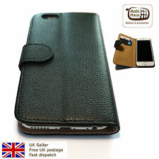 Pu Leather Folio Wallet Case with Stand for iPhone 6 / 6s - Black
