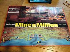 Waddington's Vintage 1965 Mine A Million Boardgame complete