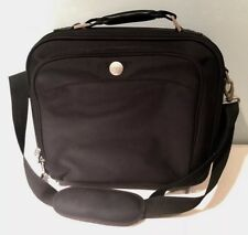 """DELL BUSINESS 17"""" LAPTOP BAG WITH MANY COMPARTMENTS STRONG SHOULDER STRAP BLACK"""