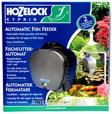 HOZELOCK AUTOMATIC POND FISH FOOD FEEDER KOI CARP GARDEN
