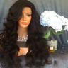 8A Lace Front Body Wave Wigs Brazilian Full Lace Human Hair Wavy Wigs Side Bangs