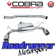 "Cobra Exhaust Fits 350Z 3"" Stainless System Centre & Rear Silencer Resonate NZ02"