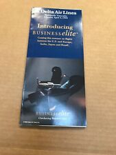 Delta Airlines 1999 Worldwide 1999 Timetable