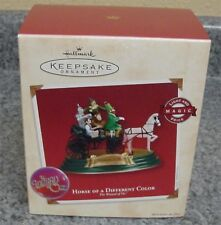 2002 Hallmark Keepsake ornament Wizard Oz Horse Different Color Light Magic Voic