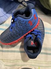 Under Armour-Navy & Red Tennis Shoes~Sz.5