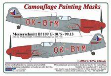 AML M33021 1/32 Messerschmitt Bf 109G-10/S.99 Ok-BYM-checo conjunto de masking de policía