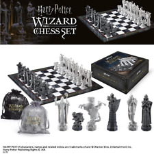Harry Potter Wizard Chess Set with Board Final Challenge Movie Licenced Noble
