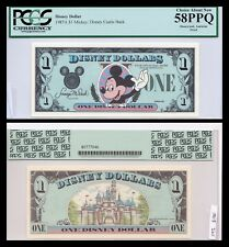 1987 $1 Disney Dollar  PROOF! PCGS Graded! Rare, Castle Back