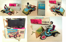 TIN TOY - DUMP TRUCK - MS865 - CARICA OROLOGIO - MADE IN CHINA