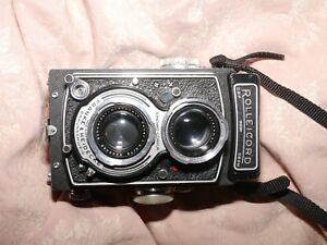 Rollei Rolleicord  vintage 6x6 twin lens camera medium format 120mm film