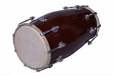 En Gros Lot De 6 Pièces Noir Mango Bois Bolt-Tuned Dholak Instrument Avec Housse