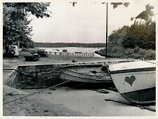 CAP BRETON c. 1940 - Canal Landes Aquitaine - Div 1485