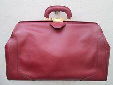AUTHENTIQUE malette médecin  DE BOISSY cuir  TBEG vintage bag