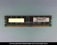 IBM 73P2683 DDR 256MB PC-3200 Non ECC 400Mhz RAM Memory