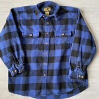 Field and stream Thick and Flannel long sleeve Shirt Button Front Mens Size xl