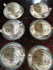 Antique Mintons Tea Cups Japonica.Fine Estate.