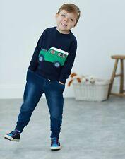 Joules Boys Ventura Sweatshirt  - NAVY JEEP