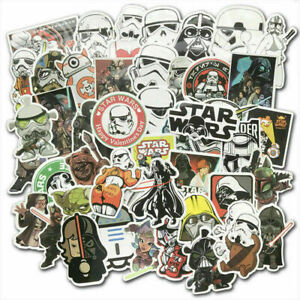 100pc Star Wars Vinyl Stickers Bomb Car Laptop Skateboard Luggage Graffiti Decal