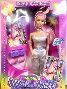 CHRISTINA AGUILERA Musical Doll Live In Concert Spanish Ven Conmigo Like Barbie