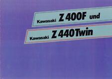 193576 Auto & Motorrad: Teile Kawasaki Z 440 Prospekt 197?