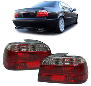 CRYSTAL CLEAR REAR LIGHTS LAMPS FOR BMW E38 7 SERIES 10/1994-11/2001 MODEL 38CCL