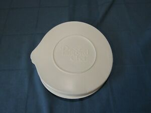 The Pampered Chef Retired 2 Quart Qt 8 Cup Batter Bowl LID ONLY Older Style *