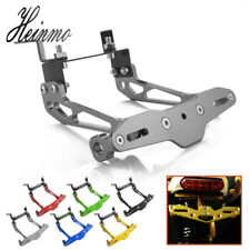Motorcycle CNC License Number Plate Frame Holder Bracket For Yamaha Kawasaki KTM
