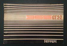Original Ferrari 365 GT 2 + 2 Parts Catalog 1968 23/68 Manual Brochure Workshop