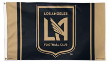 New LAFC LOS ANGELES F.C. 3'x5' DELUXE-EDITION Official MLS Soccer Team FLAG