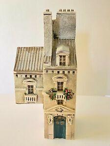 Gault Ceramic Paris Architectural Building Miniature France 1996 CLG