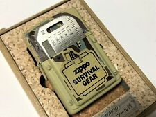 "ZIPPO Limited Edition Camouflage ""Survival Tool"" Lighter w Survival Blade Tool"