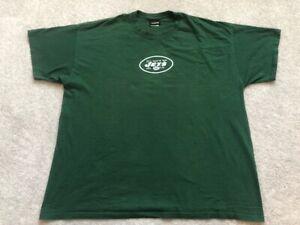 New York Jets #6 Sanchez T Shirt Size Men's 2XL Green NFL Football Sports Teams