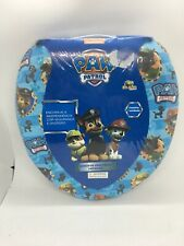 Paw Patrol Soft Padded Toilet Seat Potty Training Cover Travel Blue Sealed