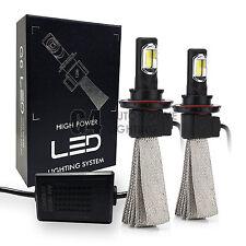 2x Fanless H13 9008 Canbus LED Headlight Kit 6000K Xenon White Bulb Super Bright