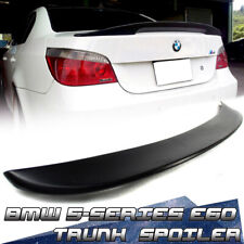 Painted For BMW 5-Series E60 4DR High Kick Trunk Boot Spoiler 530i M5 2010