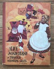 ALICE IN WONDERLAND Lewis Carrol Vintage Picture Book Brigitte Bryan