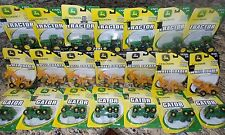 LOT of (21) NEW ERTL JOHN DEERE Tractors, Wheel Loaders & Gators:Factory Sealed