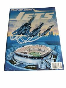 1992 NEW YORK JETS Yearbook KEN O'BRIEN  AL TOON Freeman McNeil
