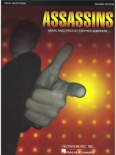 Assassins Vocal Selections Learn Sing Voice Audition Karaoke Singer MUSIC BOOK