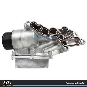 Oil Filter & Cooler for 06-12 Mercedes C CLK CLS E G GL ML R S SL SLK 2721800510