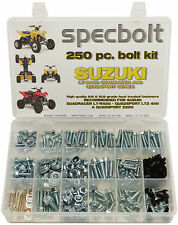 250 piece Bolt kit Suzuki LTR450 LT-R450 Z400 LT250 450 ATV fender body Specbolt