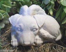 Gostatue Pit bull angel plastic mold concrete mold plaster mold dog statue mould