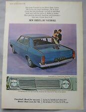 1965 Vauxhall Cresta Original advert No.2