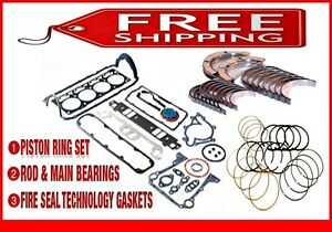 """*Engine Re-Ring Re-Main Kit*  Cadillac Catera 181 3.0L DOHC V6 """"R""""  1997-1998"""