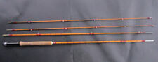 "Alex Martin Scotland Vintage 9ft 4 piece split cane Trout fly rod  ""The Popular"""